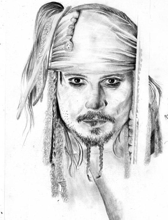 Johnny Depp by petraneon